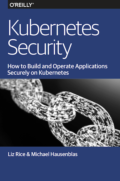 Kubernetes Security book